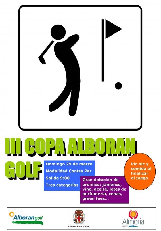 Cartel COPA Alborán Golf